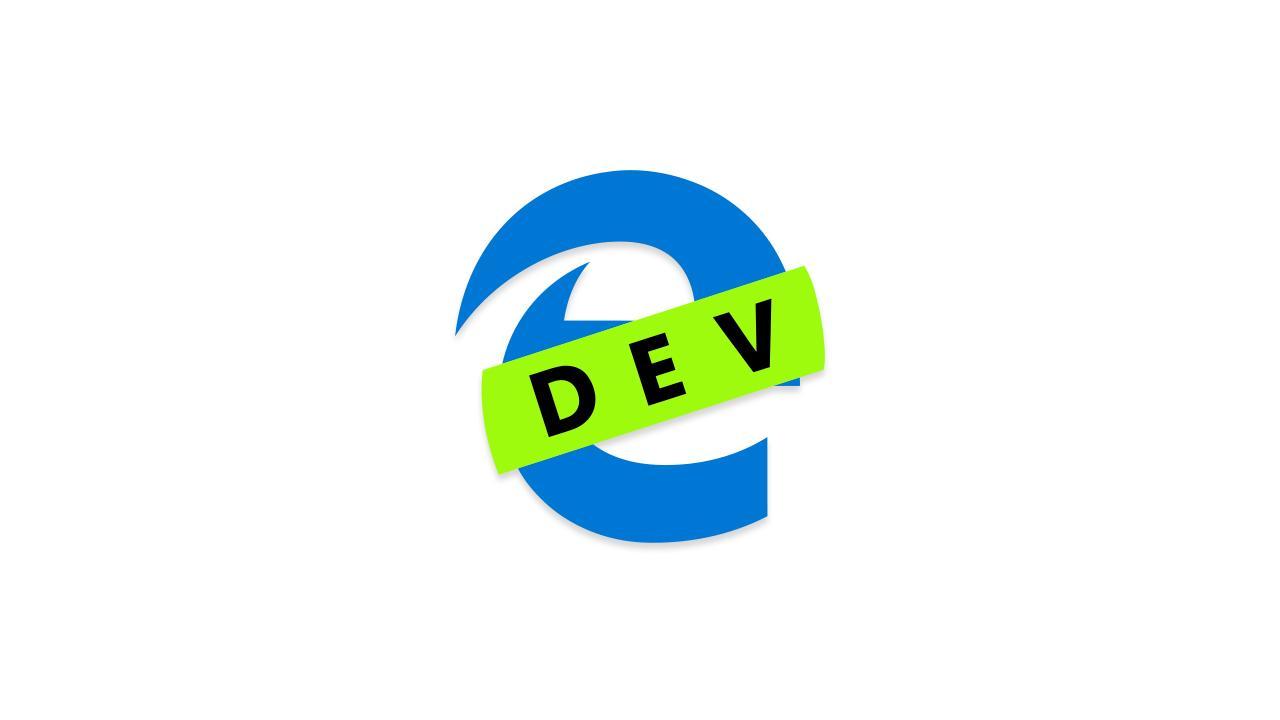 Выпущена новая сборка Microsoft Edge Dev 79. 1