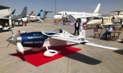 Airbus представили полностью электрический гоночный самолет