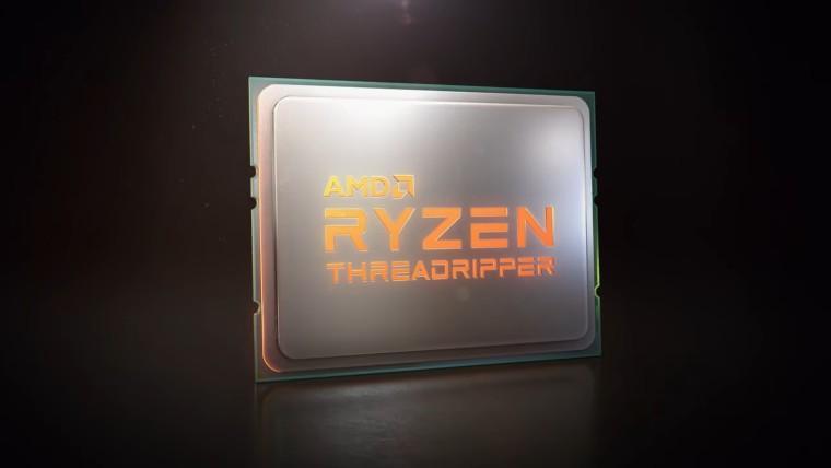 AMD анонсировала третье поколение процессоров Threadripper