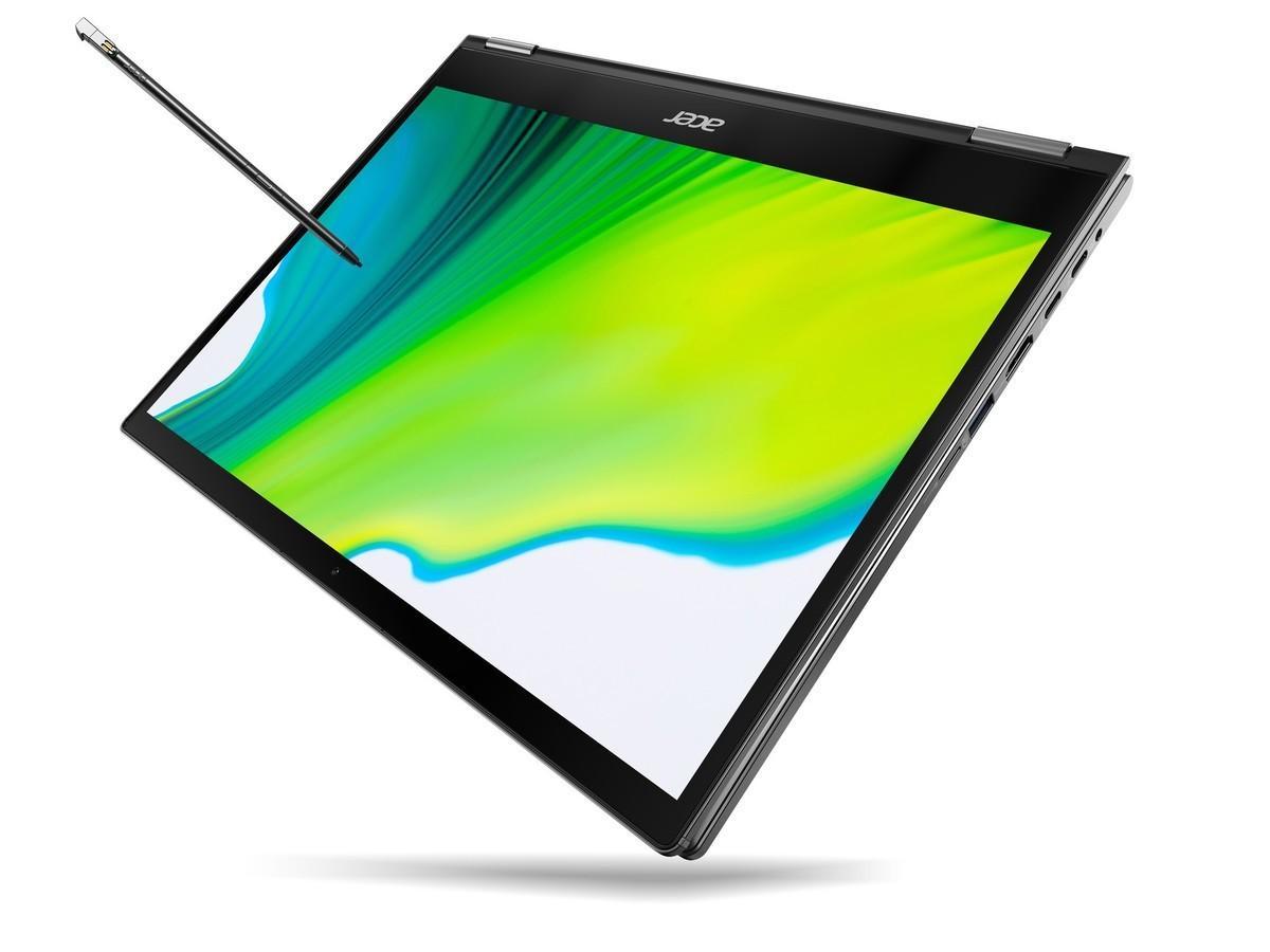 CES 2020: Acer представила обновлённые ноутбуки-трансформеры линейки Spin