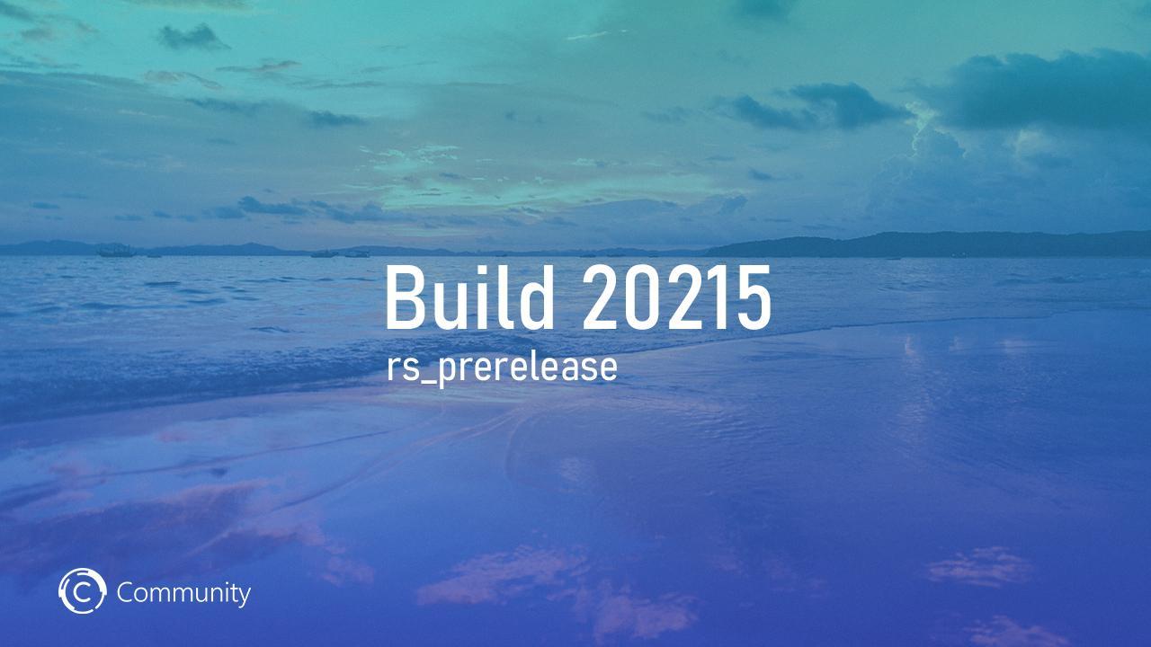 Анонс Windows 10 Insider Preview Build 20215 (канал Dev)