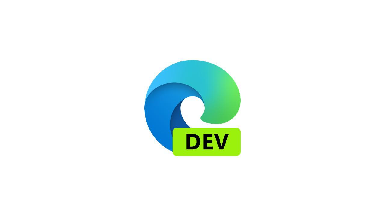 Выпущена сборка Microsoft Edge Dev 86.0.622.3