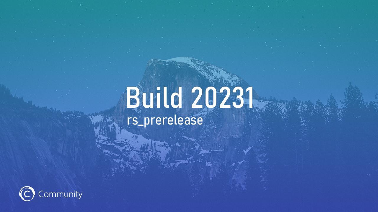 Анонс Windows 10 Insider Preview Build 20231 (канал Dev)